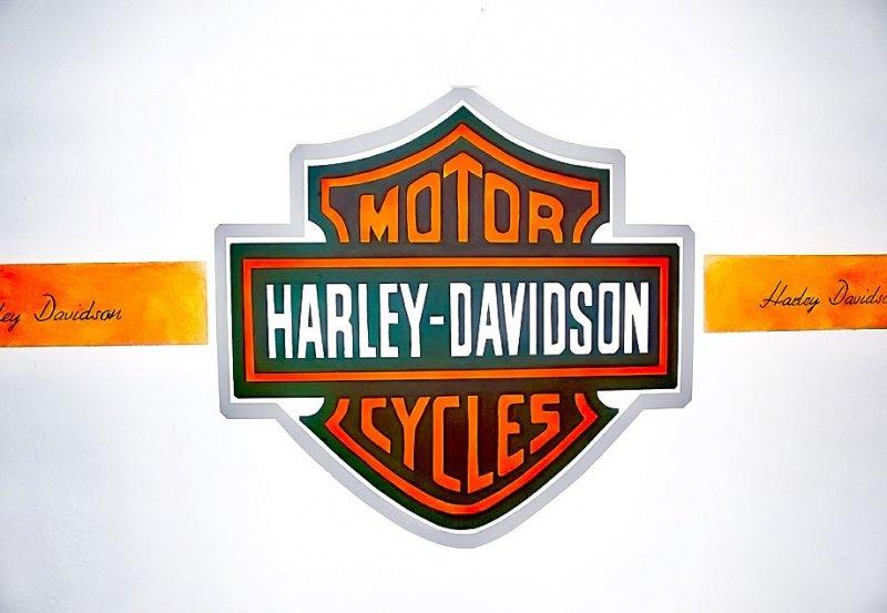 Harley-Davidson-Schriftzug-in-der-